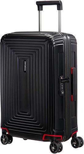 Samsonite Neopulse Spinner S (Width: 20 cm) Hand Luggage, 55 cm, 38 Liter, Black (Matte Black)