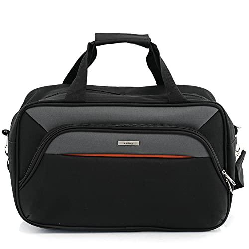 BONTOUR AIR 40x20x25 cm Carry On Hand Luggage Traveling Bag Sport Bag for Ryanair Cabin Bag (Grey)