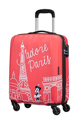 American Tourister Disney Legends - Spinner S - Children's Hand Luggage, 55 cm, 36 L, Pink (Take Me Away Minnie Paris)