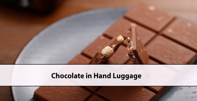 Chocolate in Hand Luggage