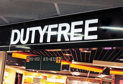 Duty-Free Shop at the Airport