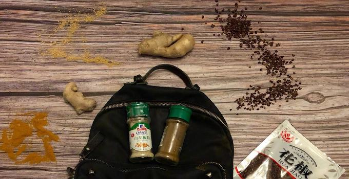 Spices in Hand Luggage