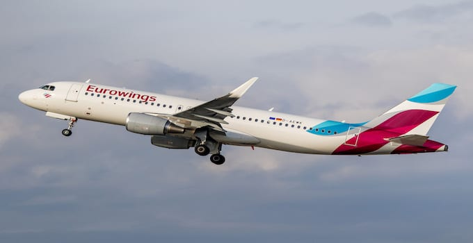 Eurowings Hand Luggage Allowance
