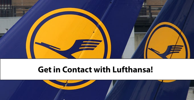 How to best get in contact with LufthansaHow to best get in contact with Lufthansa