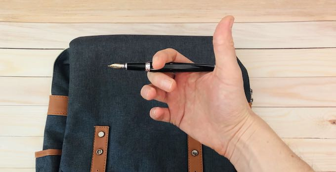 Fountain Pen in Hand Luggage