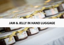 Jam & Jelly in Hand Luggage