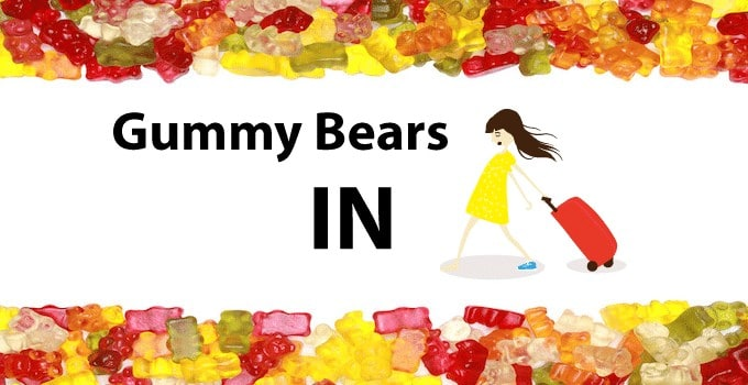 Gummy Bears In Hand Luggage